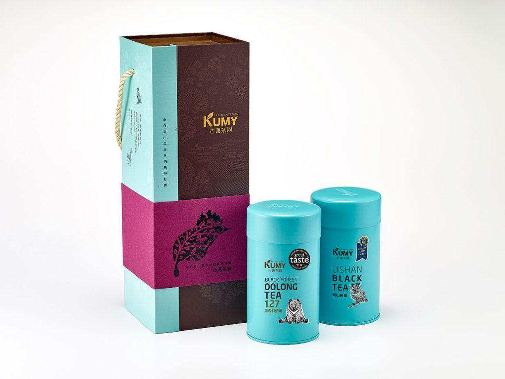 台北國際食品展 山沁茶葉禮盒 – 梨山黑森林(烏龍127+紅茶171)