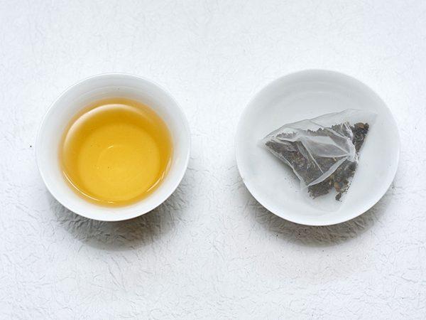 烏龍茶包茶湯