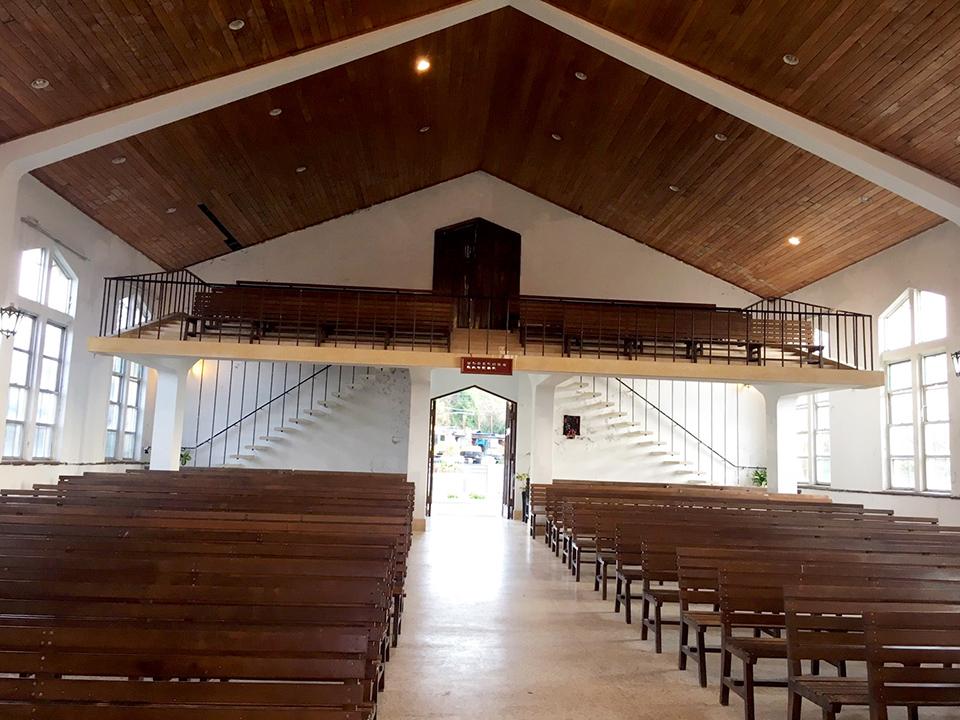 梨山耶蘇堂 - 座位