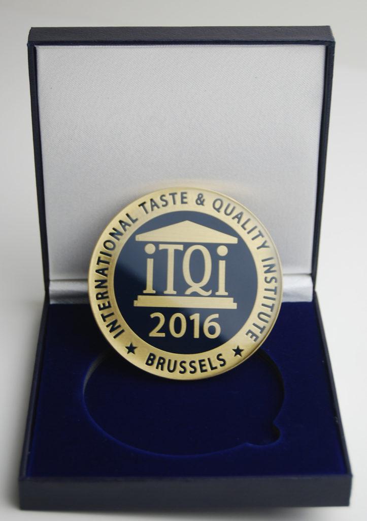 古邁黑森林紅茶 榮獲 「iTQi比利時風味評鑑獎」二星級獎