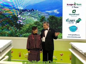 走進國際行銷台灣   莫斯科國際食品展 Tea Masters Cup